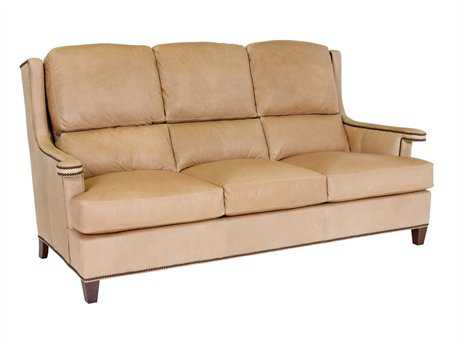 Classic Leather Carmel Sofa