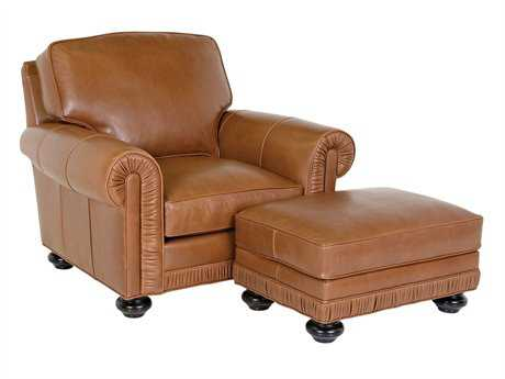 Classic Leather Chambers Club Chair