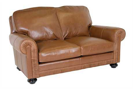 Classic Leather Chambers Loveseat
