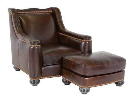 Classic Leather Chelsea Tufted Club Chair