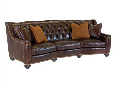 Classic Leather Chelsea Tufted Sofa
