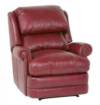 Classic Leather Chesapeake Bustle Back Recliner