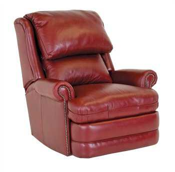 Classic Leather Chesapeake Swivel Glider Recliner