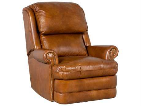 Classic Leather Chesapeake Tall Back Swivel Glider Recliner Chair