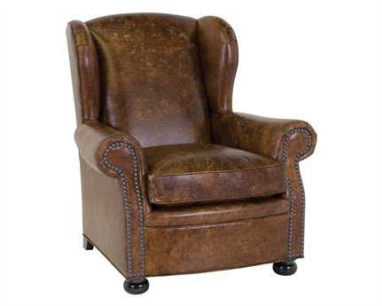 Classic Leather Cigar Club Chair CL117761