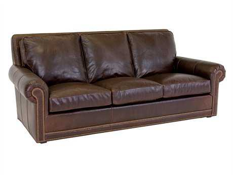 Classic Leather Coolidge Sofa