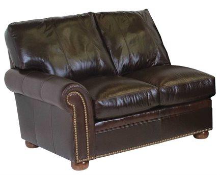 Classic Leather Easton Left Loveseat