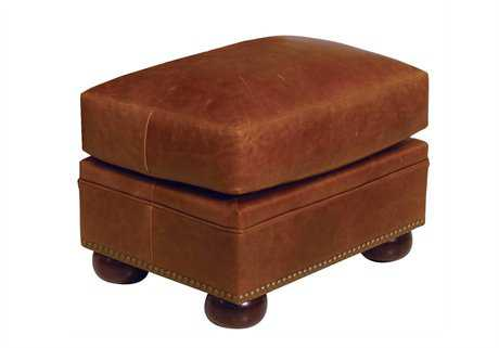 Classic Leather Easton Ottoman