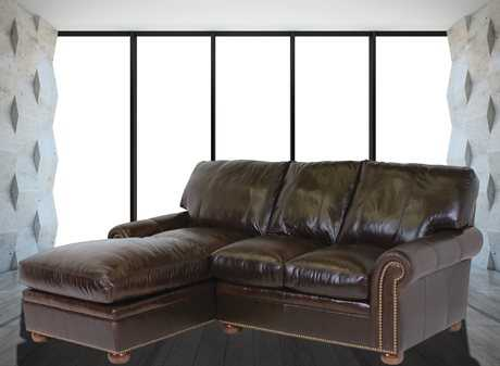 Classic Leather Easton Sectional Sofa CL34423