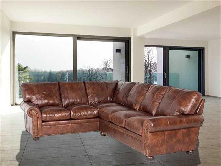 Incredible Classic Leather Easton Sectional Sofa Creativecarmelina Interior Chair Design Creativecarmelinacom