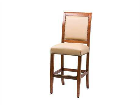 Classic Leather Fairmount Bar Stool