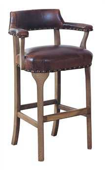 Classic Leather George III Bar Stool