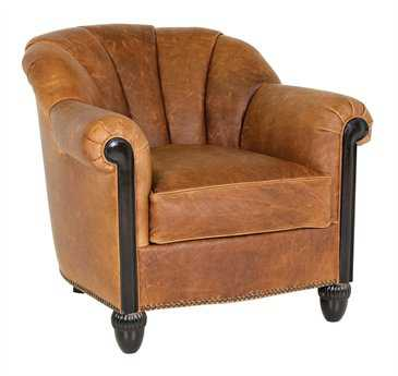 Classic Leather Gownsman Club Chair CL6936
