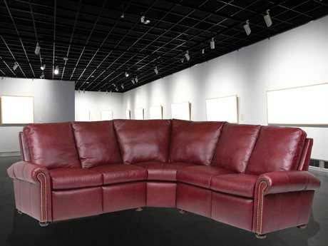Classic Leather Kenilworth Reclining Sectional Sofa