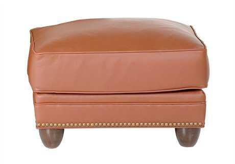 Classic Leather Keswick Ottoman