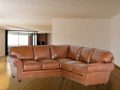 Classic Leather Keswick Sectional Sofa CL34432