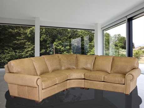 Classic Leather Kirby Sectional Sofa CL34429