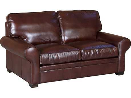 Classic Leather Library Loveseat
