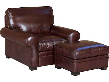 Classic Leather Library Ottoman CL11515