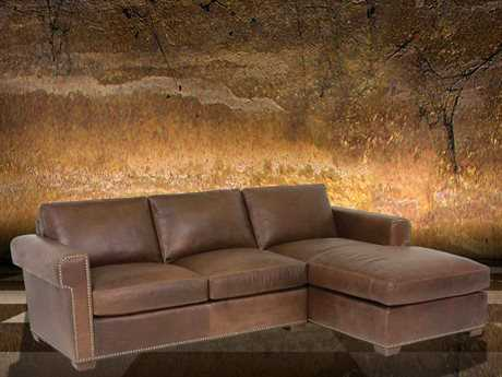 Classic Leather McGrath Sectional Sofa