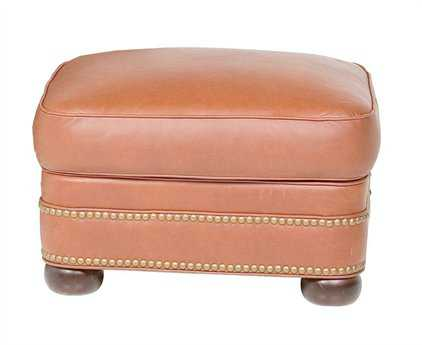 Classic Leather McGuire Ottoman