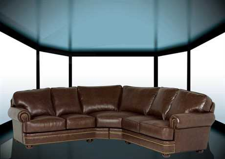 Classic Leather McGuire Sectional Sofa