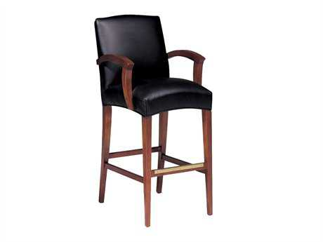Classic Leather Metro Bar Stool