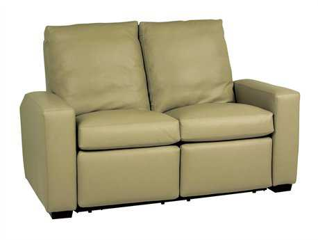Classic Leather Metro Reclining Loveseat