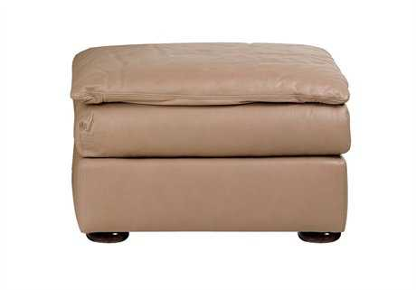 Classic Leather Oregon Ottoman CL565