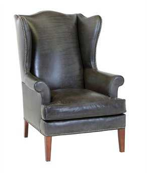 Classic Leather Paige Wing Chair CL8676