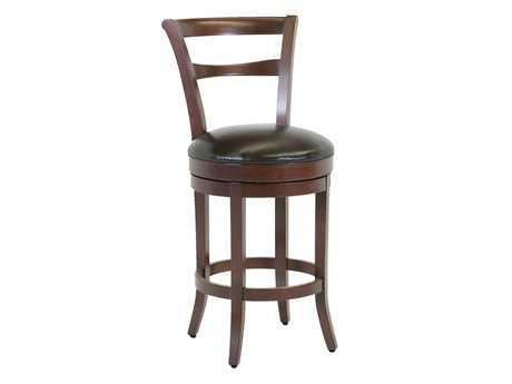 Classic Leather Parker Bar Stool