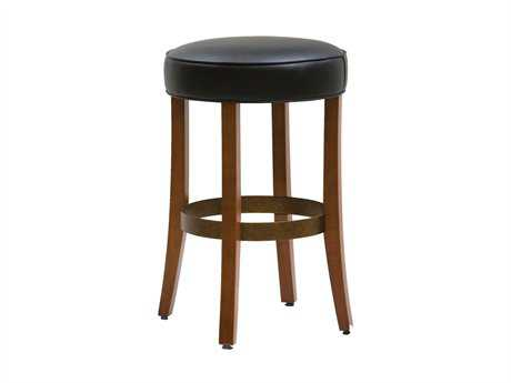 Classic Leather Pinnacle Bar Stool