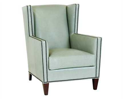 Classic Leather Porter Wing Chair