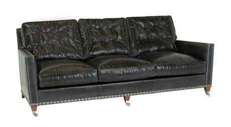 Classic Leather Prescott Sofa