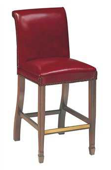 Classic Leather Rightfles 43'' Bar Stool