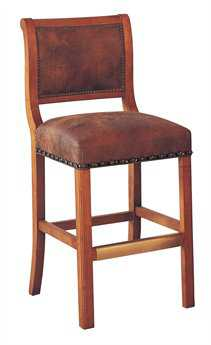 Classic Leather Regency Armless 45'' Bar Stool