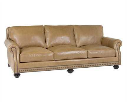 Classic Leather Riverside Sofa