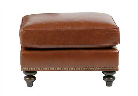 Classic Leather St. James Ottoman