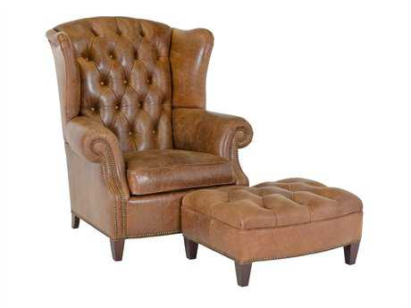 Classic Leather Stanford Accent Chair CL8681