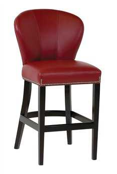 Classic Leather Tag Saddle up Bar Stool