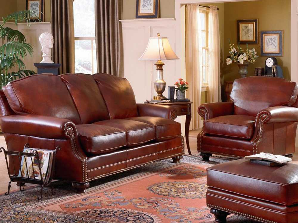 Classic Leather Whitley Living Room Set Cl34438