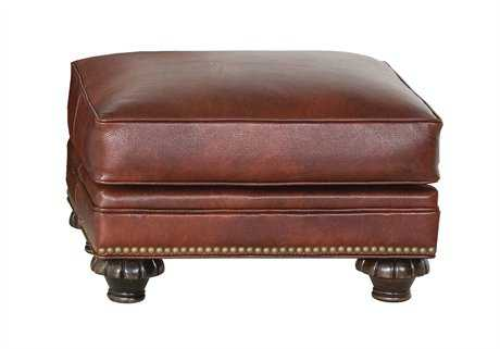 Classic Leather Whitley Ottoman