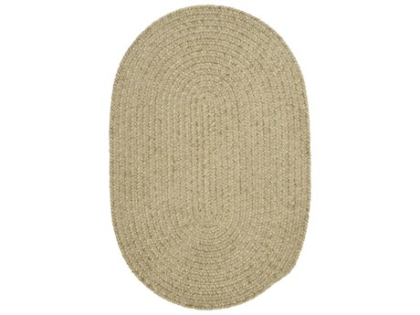 Colonial Mills Barefoot Celery Oval Area Rug