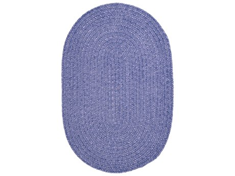 Colonial Mills Barefoot Lavender Oval Area Rug