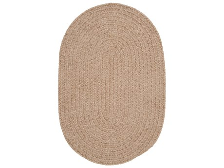 Colonial Mills Barefoot Sand Oval Area Rug