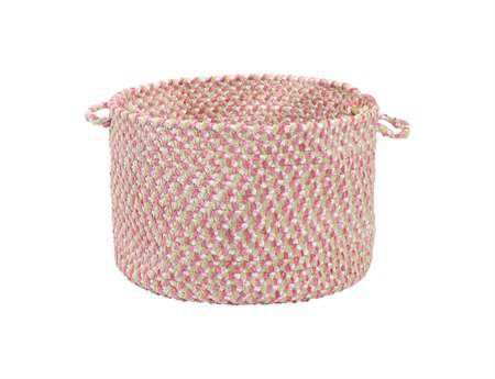 Colonial Mills Blokburst Tea Party Pink Utility Basket CIBK79BKT