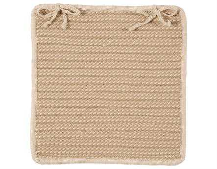 Colonial Mills Boat House Natural Chair Pad (Set of 4) CIBT99CPDS4