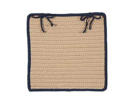 Colonial Mills Boat House Navy Chair Pad (Set of 4) CIBT59CPDS4