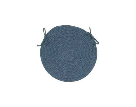 Colonial Mills Bristol Federal Blue Chair Pad (Set of 4)