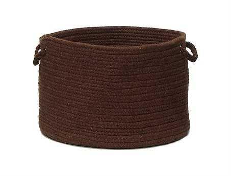 Colonial Mills Bristol Dark Brown Utility Basket